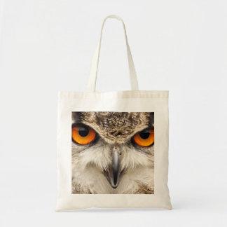 Olhos da coruja de Eagle, saco Sacola Tote Budget