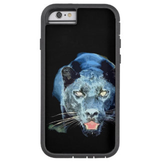 Olhos de Jaguar da pantera preta Capa iPhone 6 Tough Xtreme