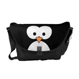 Olhos do pinguim bolsas mensageiro
