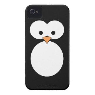 Olhos do pinguim capas para iPhone 4 Case-Mate