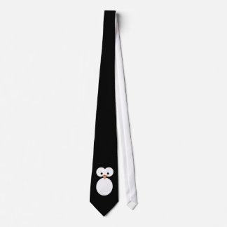 Olhos do pinguim gravata
