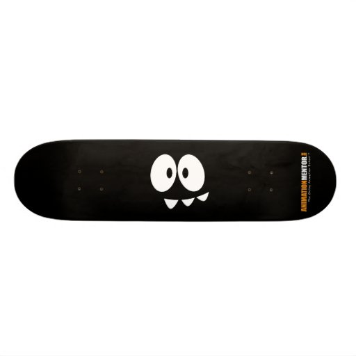 olhos do PONTO de AnimationMentor.com/dentes - ska Shape De Skate 21,6cm