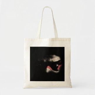 Olhos escuros bolsas