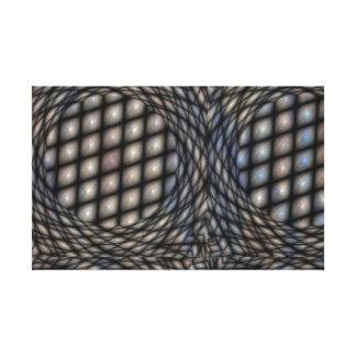 Olhos estrangeiros impressão de canvas envolvidas