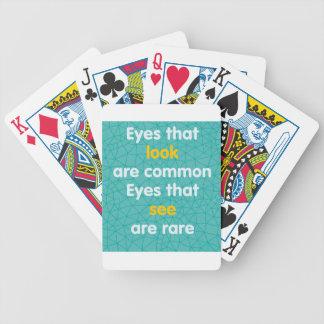 Olhos Jogo De Carta