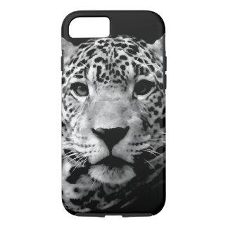 Olhos pretos & brancos de Jaguar Capa iPhone 7