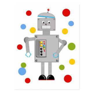 Ollie o robô cartão postal