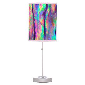 Olmo do arco-íris luminária de mesa