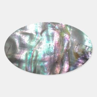 Olmo Shell Adesivo Oval