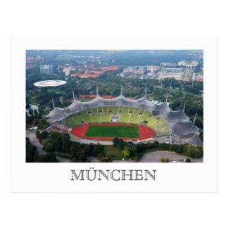 Olympiapark, cartão de Munich Cartão Postal