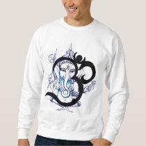 OM - Camisola dos homens de Ganesha Moleton