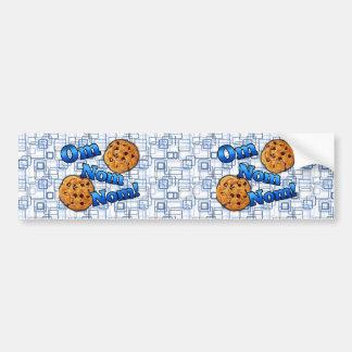 OM Nom Nom, biscoitos do amor de Meme Adesivos