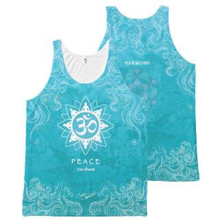 OM Shanti - paz (M) Regata Com Estampa Completa