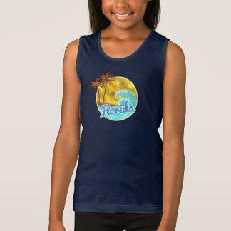 Onda de Florida, oceano, palmeiras Tshirts