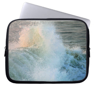 Onda de oceano bolsa e capa para computadore