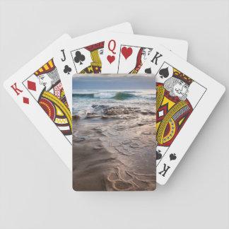 Onda que quebra na praia, Califórnia Jogo De Baralho