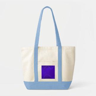 Ondas azuis bolsas para compras