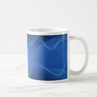 Ondas azuis caneca