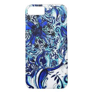 Ondas azuis, capas de iphone