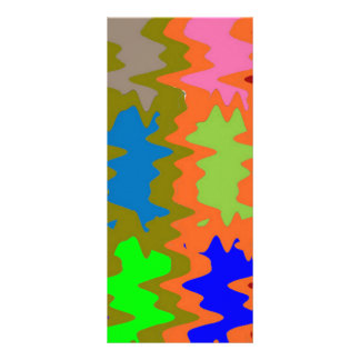 Ondas do disjuntor da velocidade - texto da imagem 10.16 x 22.86cm panfleto
