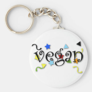 Ondas do Vegan Chaveiro