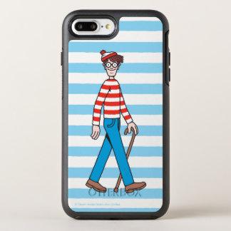 Onde está a vara de passeio de Waldo Capa Para iPhone 8 Plus/7 Plus OtterBox Symmetry