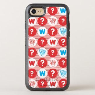 Onde está o teste padrão do vermelho de Waldo, o Capa Para iPhone 8/7 OtterBox Symmetry