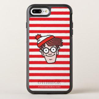 Onde está Waldo enfrente Capa Para iPhone 8 Plus/7 Plus OtterBox Symmetry