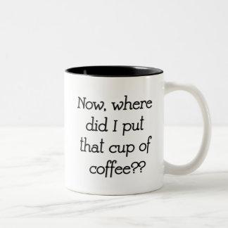 Onde fez eu pôr essa caneca de café