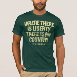 Onde há camisa da liberdade