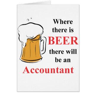 Onde há cerveja - contador cartão de nota