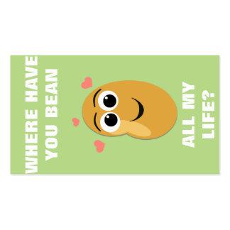 Onde o tenha mini namorados do feijão cartão de visita