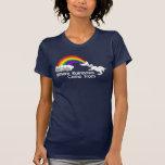 Onde os arcos-íris vêm dos t-shirt