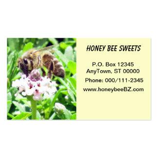 Ônibus. Cartão - abelha do mel Cartão De Visita