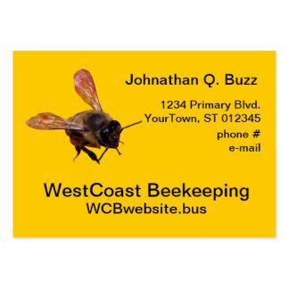 Ônibus. cartão - apicultura cartão de visita grande