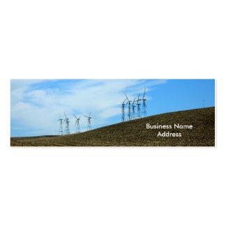 Ônibus. Cartão - moinhos de vento Cartão De Visita Skinny