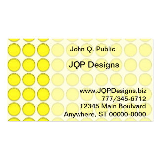 Ônibus. Cartão - pontos amarelos Modelo Cartões De Visita