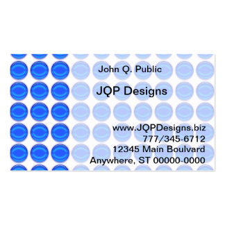 Ônibus. Cartão - pontos azuis Cartão De Visita
