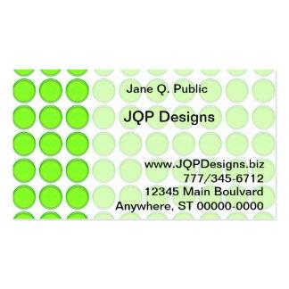 Ônibus. Cartão - pontos verdes Cartão De Visita