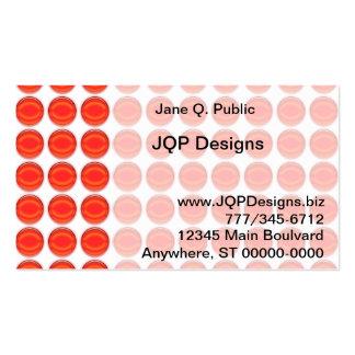 Ônibus. Cartão - pontos vermelhos Cartão De Visita