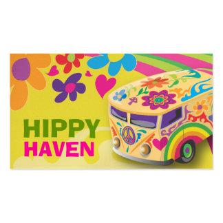 Ônibus da paz do hippy do GC Modelo Cartões De Visitas