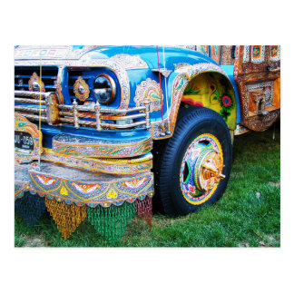 Ônibus decorado, Washington, C.C. Cartão Postal
