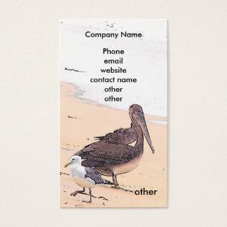 Ônibus do pelicano/praia. Cartão
