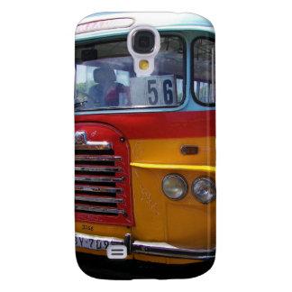 Ônibus do vintage galaxy s4 cover