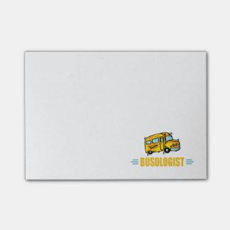 Ônibus engraçado sticky notes