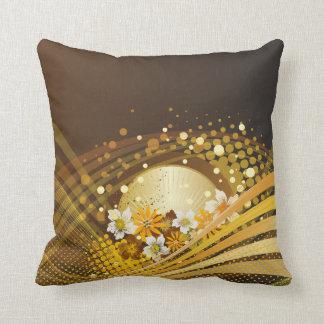 Opções florais dos travesseiros da forma 13 almofada