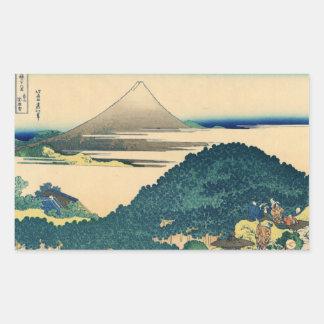Opinião 06 de Monte Fuji Adesivo Em Forma Retangular
