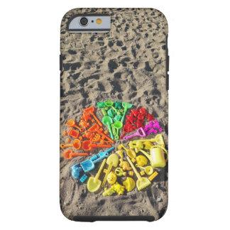 Opinião aérea as crianças coloridas plásticas capa tough para iPhone 6