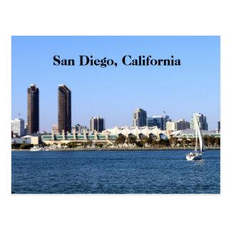 Opinião da baía do cartão | de San Diego