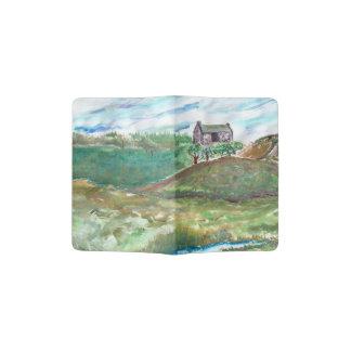 Opinião da casa de campo capa para passaporte